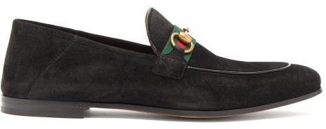Gucci Suede Loafers Men   Shop the