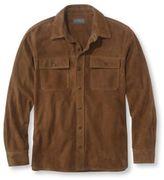 L.L. Bean Men's Chamois Suede Shirt-Jac