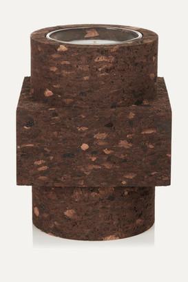 Tom Dixon Cork Medium Scented Candle - Brown