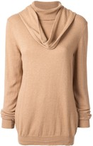 Jejia cowl neck jumper