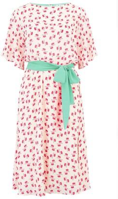 Libelula Jojo Dress White & Red Hiawatha