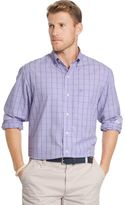 Izod Men's Classic-Fit Windowpane Button-Down Shirt