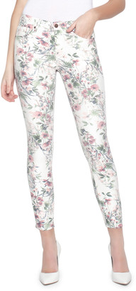 Parker Smith Ava Victorian Floral Skinny Jeans