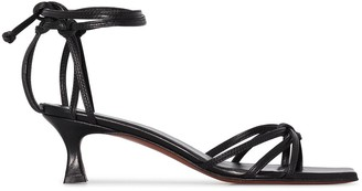 MANU Atelier 50mm Ankle-Tie Strappy Sandals