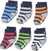 Trumpette Baby Boys Sock Set-6 Pairs, Stars and Stripes-Assorted Colors