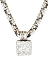 Chopard Happy Diamonds Square Pendant Necklace