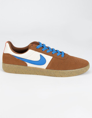 NIKE SB Team Classic Brown & Blue Shoes