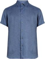 Brioni Loose-fit linen shirt