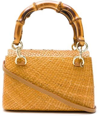 Serpui Marie Straw Tote Bag