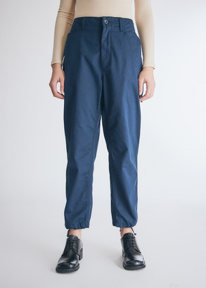 Engineered Garments Women's Painter Pant in Navy Flat Twill, Size Extra Small | 100% Cotton