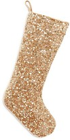 Season's Designs Gold Sequin Stocking
