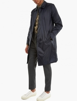 Officine Generale Navy Alberto Nylon Coat