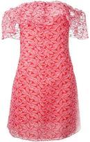 Giamba strapless mini dress - women - Cotton/Polyester - 40