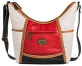 Bolo Women's Faux Leather Crossbody Handbags - Red