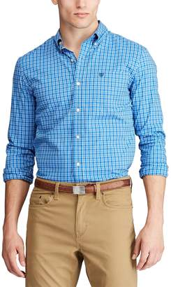 Chaps Men's Classic Fit Stretch Easy-Care Button-Down Shirt