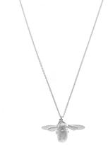Alex Monroe Silver Bumblebee Necklace