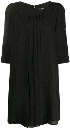 Emporio Armani Slit Sleeve Shift Dress