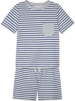 The Little White Company Breton stripe cotton pyjamas 1-6 years