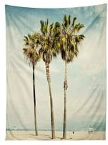 DENY Designs Venice Beach Palms Tapestry