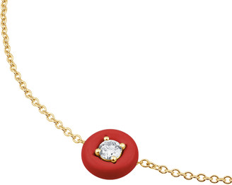 Vittorio B. Fine Jewels Belle Ciambelle 14K Gold Coral and Diamond Necklace