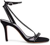 Isabel Marant Athist Sandal in Black | FWRD
