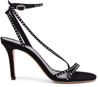 Isabel Marant Athist Sandal in Black   FWRD