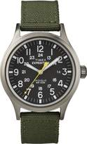 Timex Men's T49961GP Expedition Scout Metal Dial and Green Nylon Strap