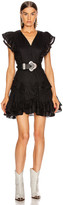 Etoile Isabel Marant Audrey Dress in Black | FWRD