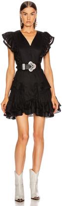 Etoile Isabel Marant Audrey Dress in Black | FWRD