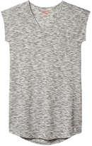 Joe Fresh Women's Space Dye Sleep Tunic, Grey (Size M)