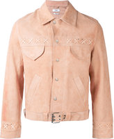 Cmmn Swdn Austin western jacket - men - Leather/Acetate/Viscose - 46