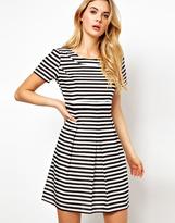 Vila Stripe Skater Dress
