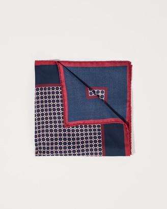 Jigsaw Dot Pocket Square