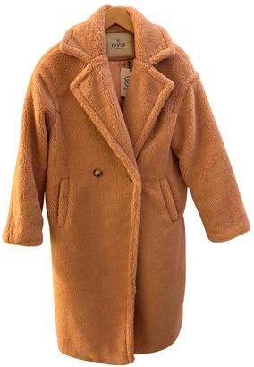 Ducie Pink Faux fur Coats