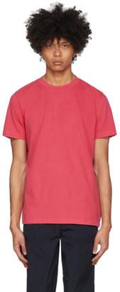 Moncler Red Cotton T-Shirt