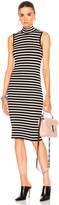 ATM Anthony Thomas Melillo Sleeveless Stripe Dress