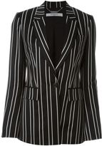Givenchy pinstripe blazer - women - Silk/Viscose/Wool - 32