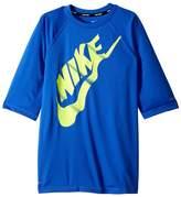 Nike Solid Half Sleeve Hydroguard Boy's Swimwear