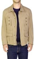 Christian Dior Men's Cotton Blouson Jacket Brown