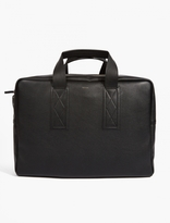 Paul Smith Black Leather Weekend Bag