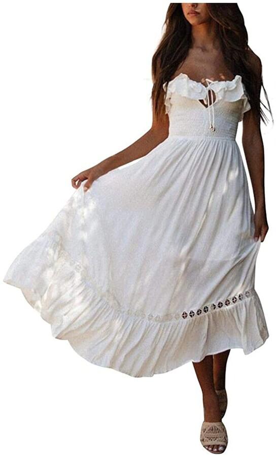 Short White Wedding Dresses Shop The World S Largest Collection Of Fashion Shopstyle Uk