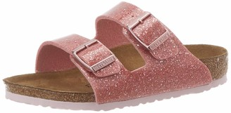Birkenstock Sandales Arizona Birko-flor Cosmic Sparkle Old Rose Girls Sandal