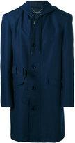 Balenciaga hooded coat