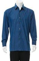 Charvet Chambray Button-Up Shirt