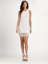 Laundry by Shelli Segal Double-Tiered Lace Dress