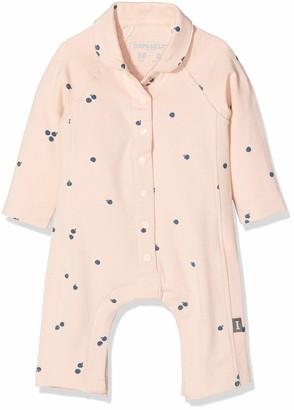 Imps & Elfs Baby Girls' G Overall Long Sleeve Romper