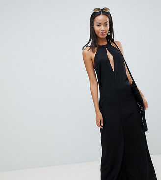 Asos DESIGN Tall Halter Neck Maxi Dress