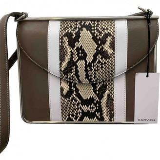Carven \N Beige Leather Handbags