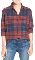 Madewell Shrunken Flannel Boyfriend Shirt