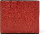 Valextra - Pebble-grain Leather Billfold Wallet